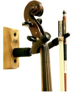 String Swing String Swing wood violin hanger wall-mounted