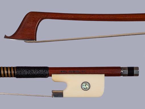 EMIL KUEHNL ** silver & ivory cello bow