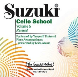 CD, Suzuki Cello, Vol.5 REVISED