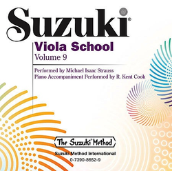 CD, Suzuki Viola, Vol. 9