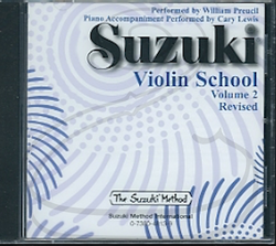 CD: Suzuki Violin School (Preucil), Vol.2 - REVISED
