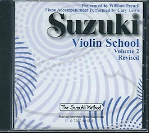 CD: Suzuki Violin School (Preucil), Vol.2 - REVISED