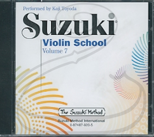 Zen-On CD: Suzuki Violin School (Toyoda), Vol.7