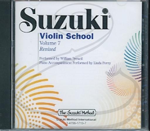 Alfred Music CD: Suzuki Violin School (Preucil), Vol.7 - REVISED