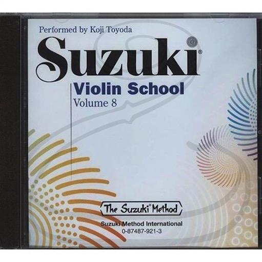 Zen-On CD: Suzuki Violin School (Toyoda), Vol.8