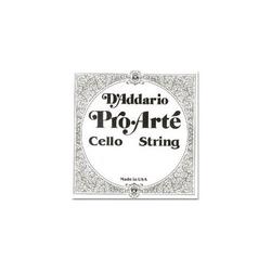 D'Addario D'Addario Pro-Arté cello 1/2-1/4 G string, tungsten/silver, medium