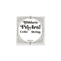 D'Addario D'Addario Pro-Arté cello 1/2-1/4 C string, tungsten/silver, medium