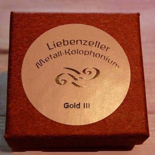 Liebenzeller Liebenzeller Gold III viola rosin (Metall-Kolophonium), Germany