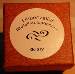 Liebenzeller Liebenzeller Gold IV cello rosin (Metall-Kolophonium), Germany