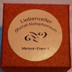 Liebenzeller Liebenzeller Meteor Iron (Meteoreisen) I violin / viola rosin (Metall-Kolophonium), GERMANY