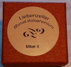 Liebenzeller Liebenzeller Silver (Silber) II violin rosin (Metall-Kolophonium), GERMANY