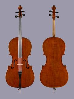 OTTO HEINE German cello, 1982