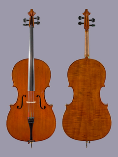 Ivan Zgradic Cello #2930C, 1886, Los Angeles