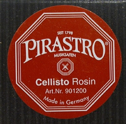 Pirastro CELLISTO cello rosin - GERMANY