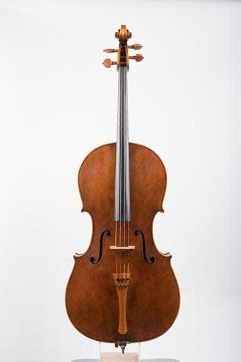 Peter Seman 4/4 cello, Chicago, USA, 2011