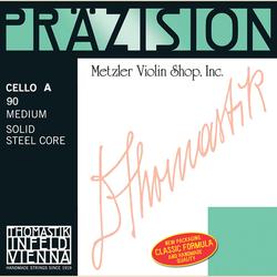 Thomastik-Infeld Prazision (Precision) chrome-wound cello A string, medium, by Thomastik-Infeld