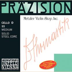 Thomastik-Infeld Prazision (Precision) chrome-wound cello D string, medium, by Thomastik-Infeld