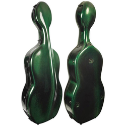 "Musilia Musilia S2 ""Robust"" cello case 7lbs carbon-fiber green"