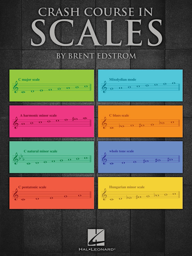 HAL LEONARD Edstrom: Crash Course in Scales, Hal Leonard