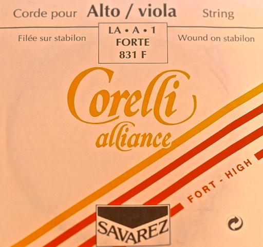 Corelli Savarez Corelli Alliance viola A, high tension