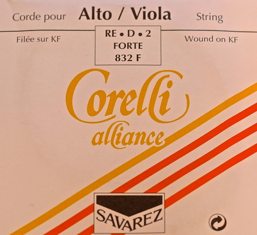 Corelli Savarez Corelli Alliance viola D, high tension