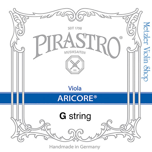 Pirastro (Discontinued)  Pirastro ARICORE viola G string, silver, medium