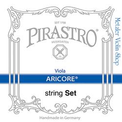 Pirastro (Discontinued)  Pirastro ARICORE medium viola string set w. aluminum A & D