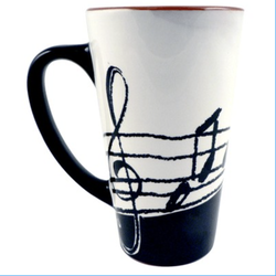 AIM Gifts Music Note Coffee Mug 16oz
