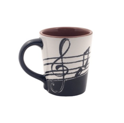 AIM Gifts Music Note Coffee Mug 14oz