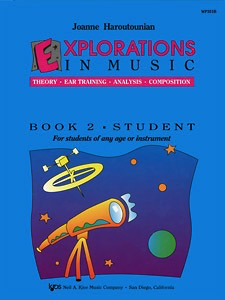 Haroutounian, Joanne: Explorations in Music, Bk.2 (with CD)