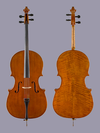 Snow SNOW JHS cello, Antiqued aged European wood (used)