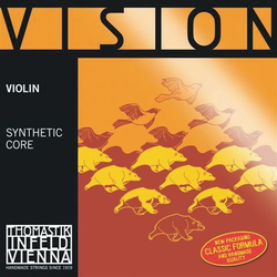 Thomastik-Infeld VISION violin E string, tin-plated, 4/4, Medium, straight, by Thomastik-Infeld