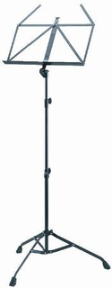 Koenig & Meyer K&M ''Starline'' Professional Black Steel Extra Tall Music Stand, (Military)