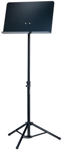 Koenig & Meyer K&M 2-section all-aluminum black solid-desk Orchestra Music Stand