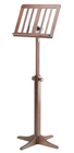 Koenig & Meyer K&M wood music stand with slats, Model 116/1