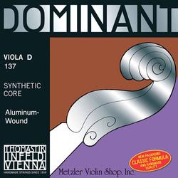 Thomastik-Infeld DOMINANT viola D aluminum medium straight, by Thomastik-Infeld