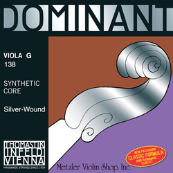 Thomastik-Infeld DOMINANT viola G medium straight, by Thomastik-Infeld