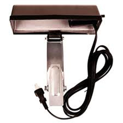 Universal clip-on stand light, without bulb