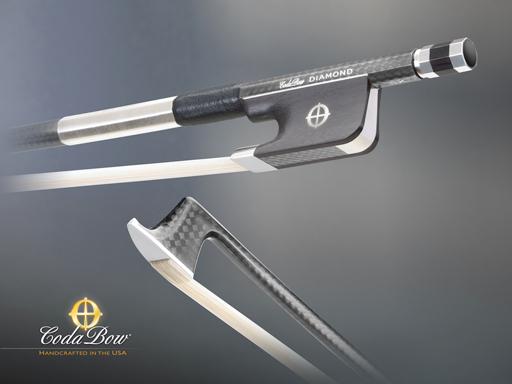 CodaBow CodaBow DIAMOND SX Viola Bow, with GlobalBow Technology (Full Size), USA