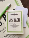 C.F. Peters Mini Peters Edition Bach Sticky Notes