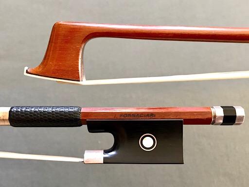 Brazilian FORNACIARI silver violin bow, Brazil