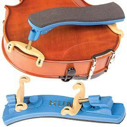 Kun Kun Collapsible MINI blue Violin Shoulder Rest, 1/4-1/8