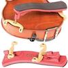 Kun Kun Collapsible MINI Red Violin Shoulder Rest, 1/4-1/8