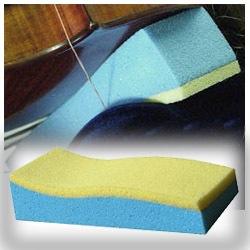 Marshmellow Mini Violin Shoulder Rest Memory Foam
