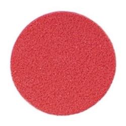 Round red sponge shoulder rest, 2 in pack, Medium