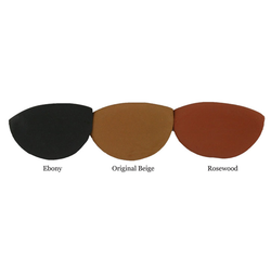 Strad Pad w. velcro, large rosewood (Deluxe)