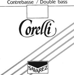 Corelli Savarez CORELLI tungsten bass string set, forte