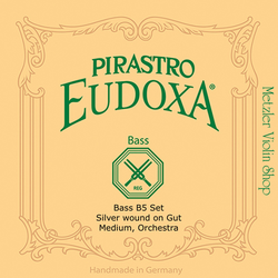 Pirastro Pirastro EUDOXA bass B5 (H5) string, silver wound on gut