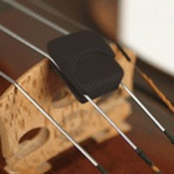 Super-Sensitive SPECTOR Violin Mute by Super-Sensitive, black
