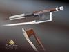 CodaBow CodaBow GLOBAL PRODIGY 3/4 nickel violin bow, with GlobalBow Technology, USA